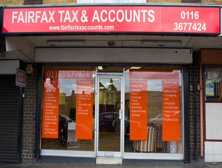 Fairfax 25 Home | Fairfax tax and accounts | Oadby Leicester Accountants
